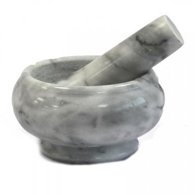 Marble Pestle & Mortar