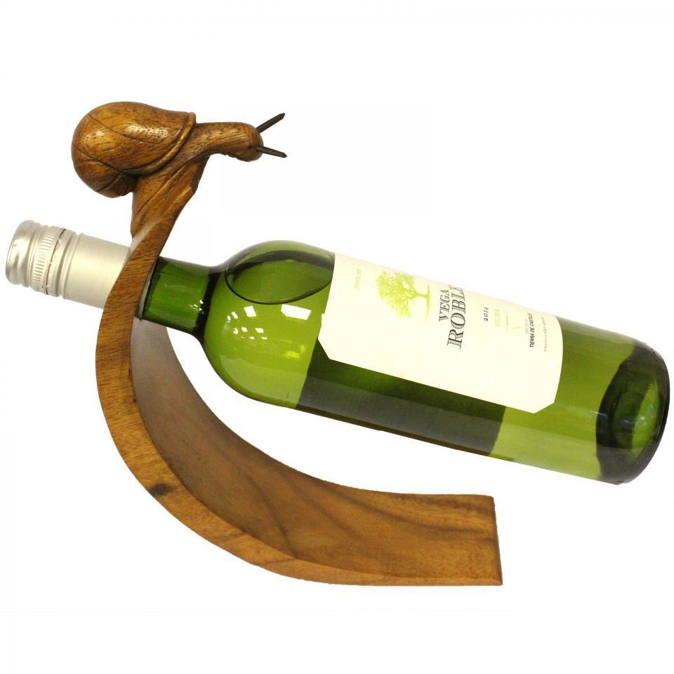 Wood Balance Wine Holder