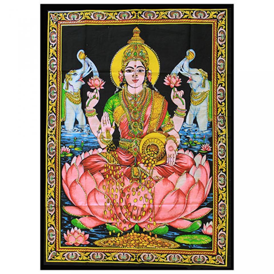 Indian Cotton Wall Art Print