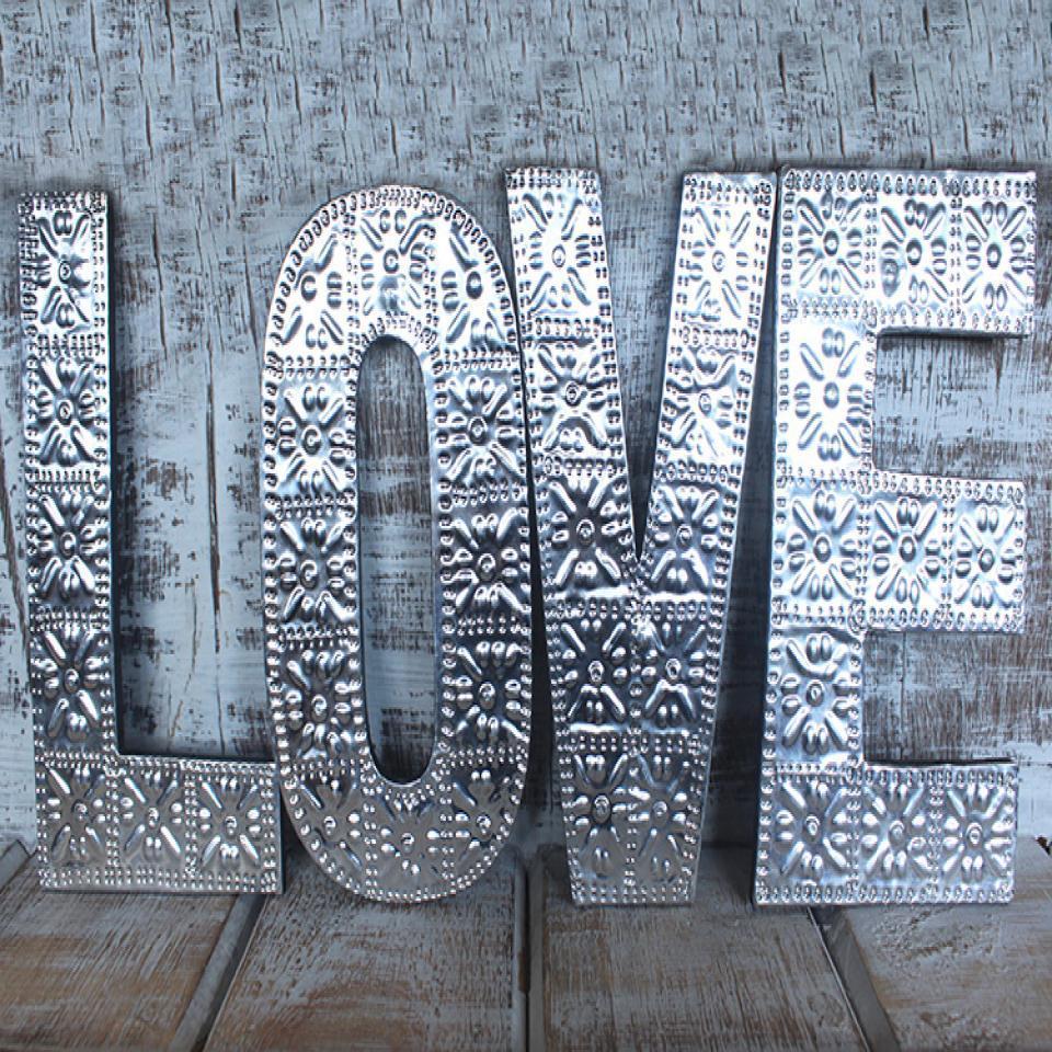 Arty Aluminum Letter